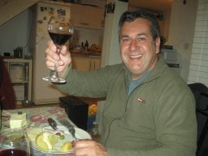 Pascal loves Corsican wine