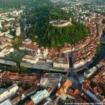 croatia tours ljubljana aerial