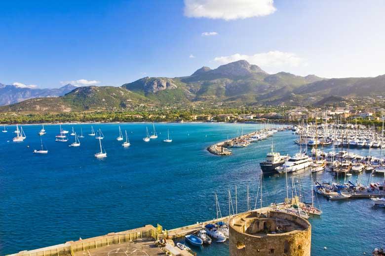 Calvi Harbor, Corsica