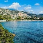 Beaulieu Bay, French Riviera, France
