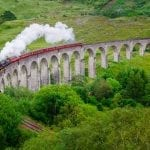 Glenfinnan Viaduct Harry Potter bridge Scotland