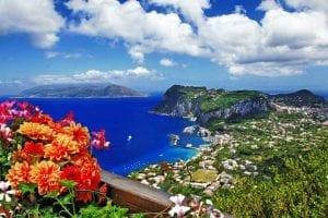 Capri scenic view
