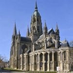 Notre Dame cathedral Bayeux Normandy France