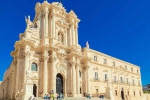 Siracusa Cathedral - tour of Sicily
