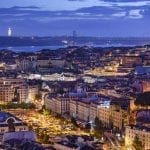 Lisbon at night - Portugal tour