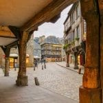 Medieval city of Dinan France