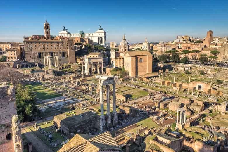 Roman Forum Rome Italy - Sicily tour