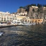 After spending the night in Lipari harbor, we continue exploring the next morning (1)