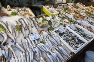 Modiano Market Thessaloniki Fish