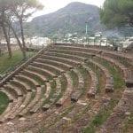 ancient Greek theater in Lipari
