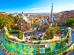 Park Guell, Barcelona, Spain Ipswich Tours