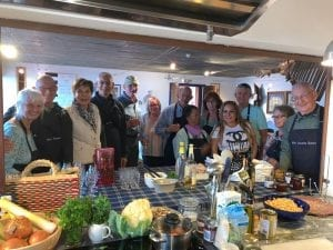 Portugal Cooking Class group