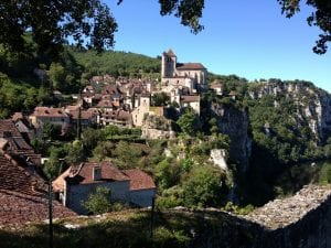 Yet another of the prettiest villages in France: Saint Cirq-la-popie