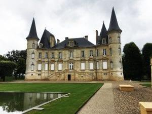 Pichon Longueville Chateau in Pauillac, the Haut Medoc wine region