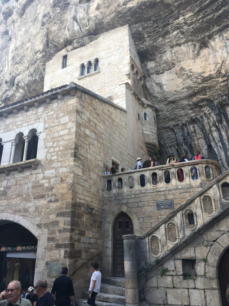 Spectacular Rocamadour, a stop for pilgrims on the road to Santiago de Compostela