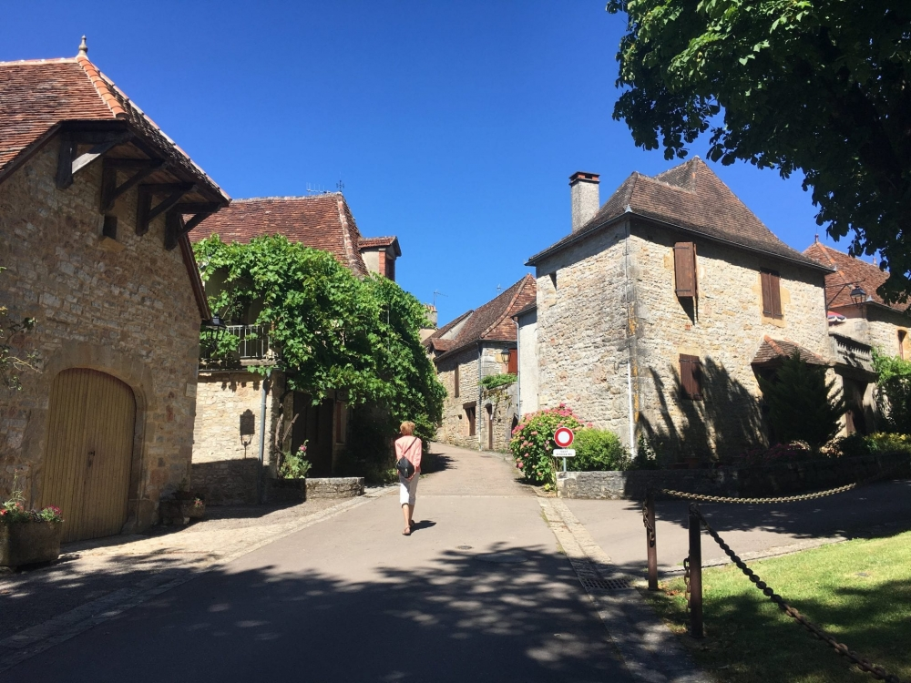 The Perigord region has a wealth of picturesque villages. This is Loubressac.