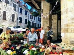 Market day in Martel