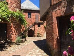 The quaint village of Collonges-la-Rouge