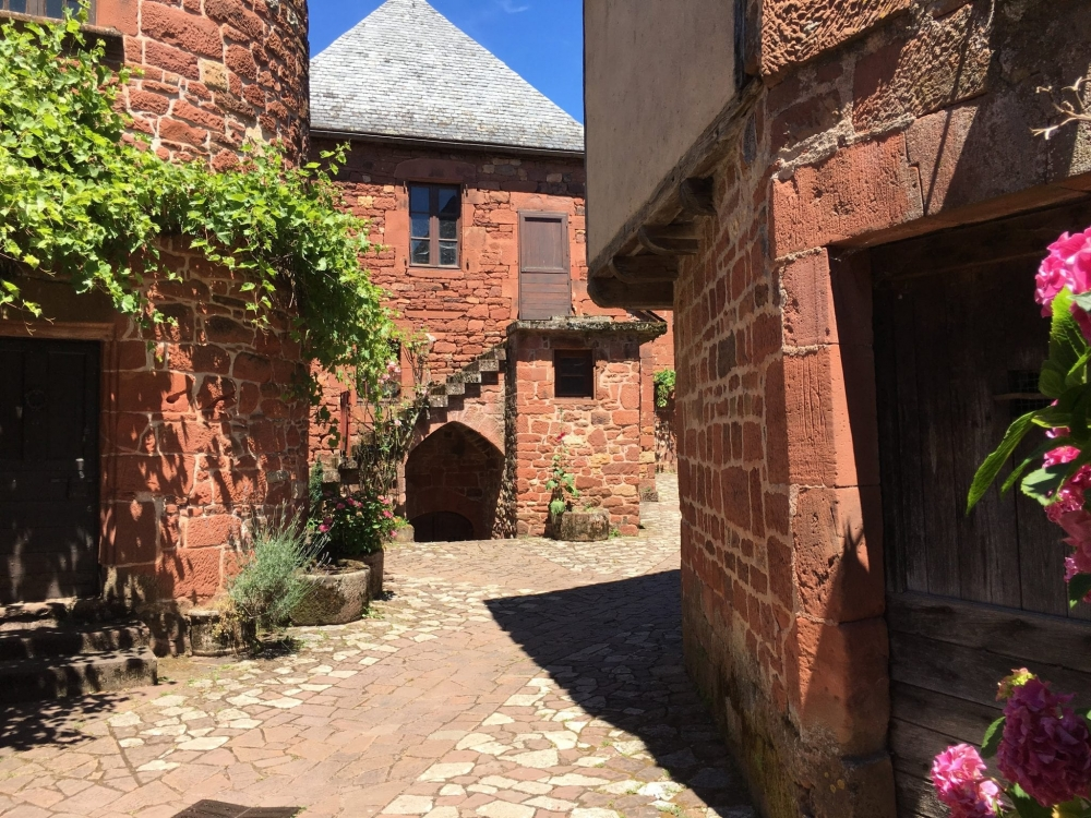 The quaint village of Collonges-la-Rouge