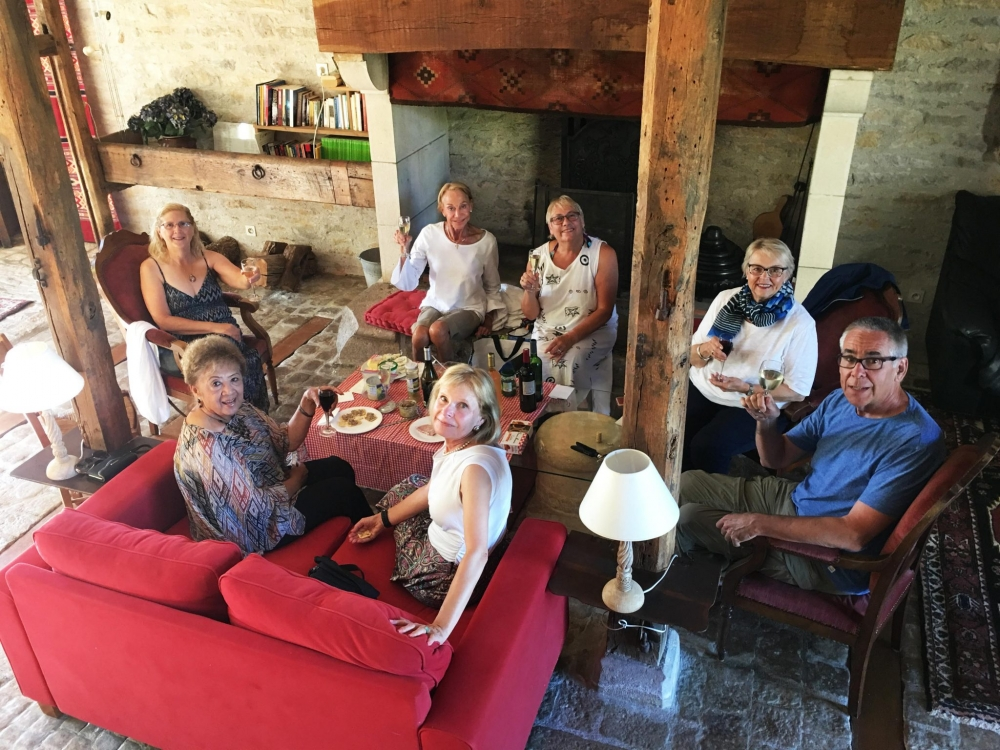 Happy hour at Domaine de la Rhue, Rocamadour