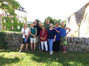 With our friends at Domaine de la Rhue, Rocamadour