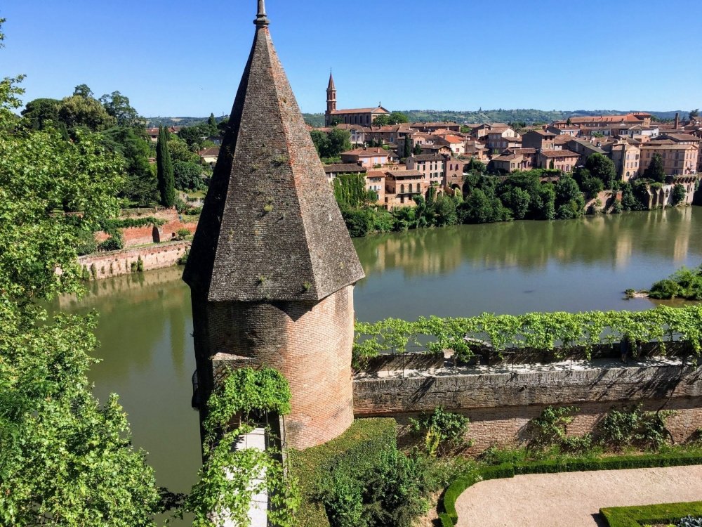 The River Tarn in Albi
