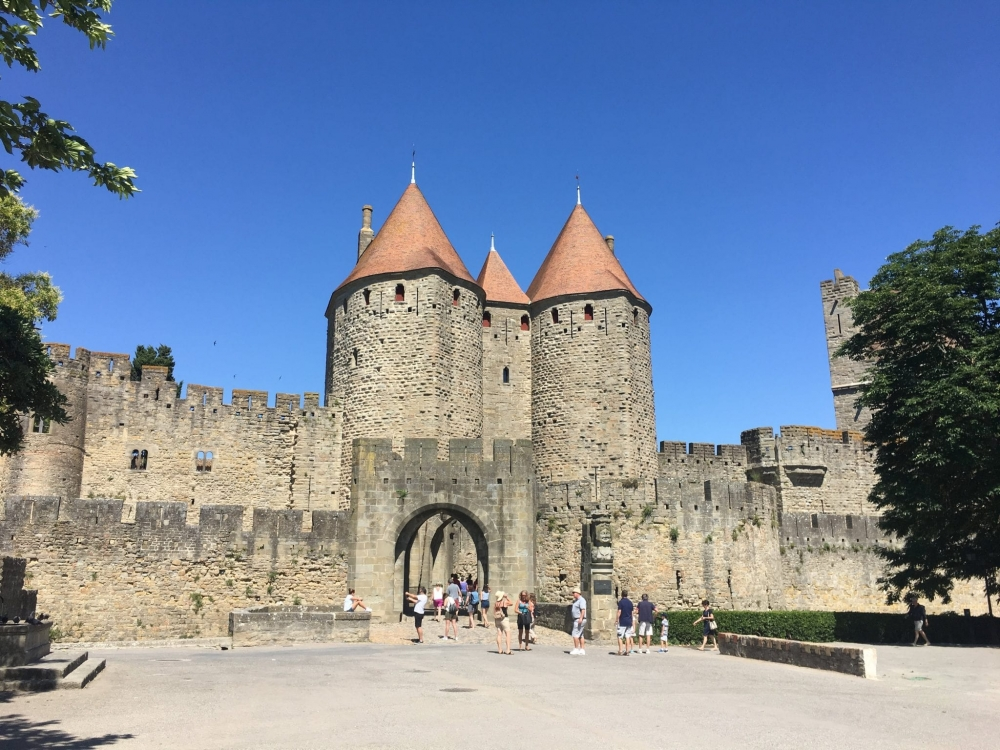 The incredible walled village of Carcassonne