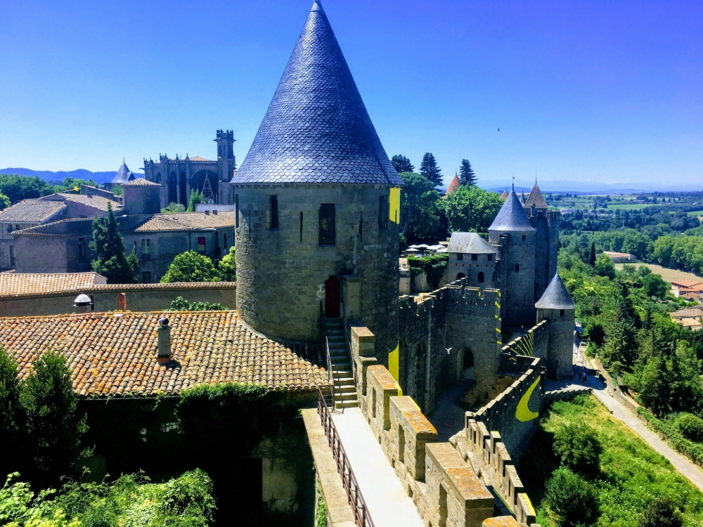 Carcassonne's original castle